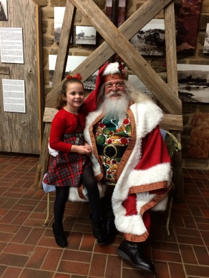 Kiera Roeder & Santa Claus at BCFS Education Services' Head Start Christmas Party.jpg