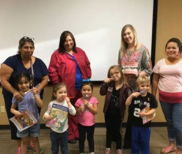 Head Start Parents and Students Celebrate National Children's Dental Health Month