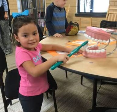 Head Start Students Learn Proper Brushing Techniques.JPG