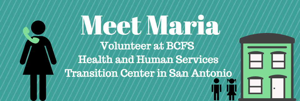 Meet Maria Key Volunteer At Bcfs Health And Human