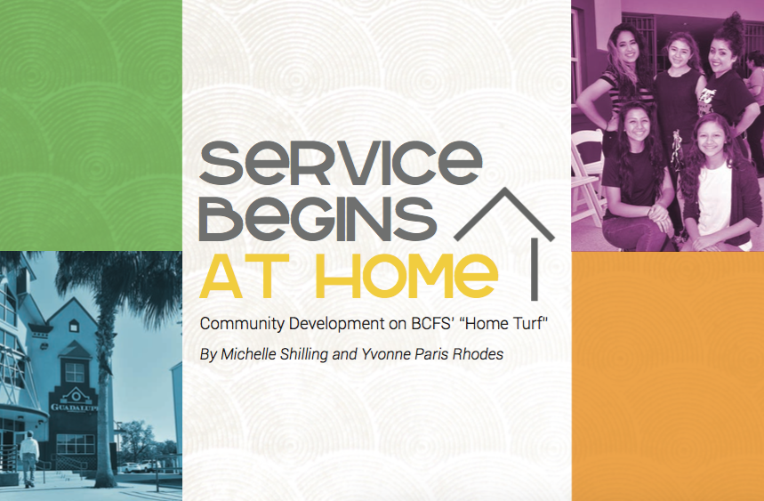 Service Begins At Home Community Development In San